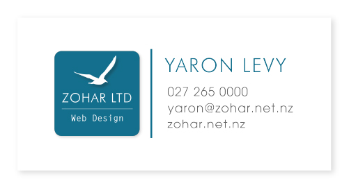 Zohar Web Design
